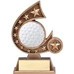 Golf Resin Comet Series Trophies