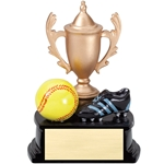 Softball Resin Cup Theme Trophies