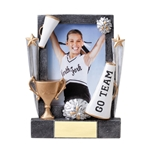 Cheerleading Sports Theme Picture Frame