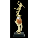 Basketball Male Color Scene Trophies