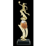 Basketball Female Color Scene Trophies