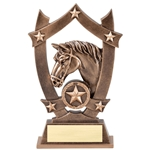 Star Horse Resin Trophies