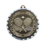 Tennis Diamond Cut Medals