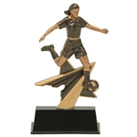 Soccer Female Star Power Trophies