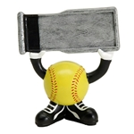 Softball Ball Head Trophies