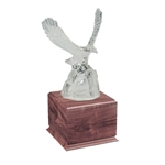 Glass Eagle On Rock Trophies
