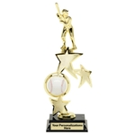 Baseball Spin Star Trophies
