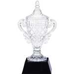 Crystal Trophy Cups on Black Crystal Base