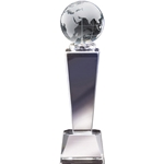 Globe Crystal Trophies