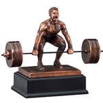 Weightlifting Male Deadlift Trophies