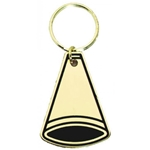 Cheerleading Brass Key Chain Medals