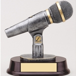 Microphone Resin Trophies