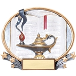 Lamp of Knowledge 3D Trophies