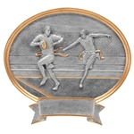 Flag Football Sports Legend Plaque Trophies