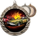 Demolition Derby Insert Medals