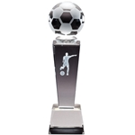 Soccer Female Sport Crystal Trophies