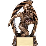 Football Running Star Trophies