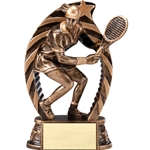 Female Tennis Running Star Trophies