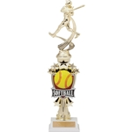 Softball Sports Motion Trophies