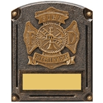Fire Fighter Legends of Fame Trophy/Plaque