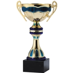 Liguria Blue and Gold Trophy Cups