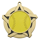 Softball Super Star Medals