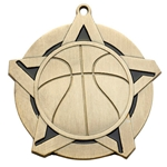 Basketball Super Star Medals