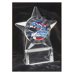 Swimming All Star Acrylic Trophy