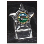 Soccer All Star Acrylic Trophies