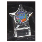 Gymnastics All Star Acrylic Trophies