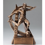 Soccer Male Ultra Action Sports Resin Trophy