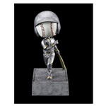 Baseball No Face Bobblehead Trophies