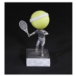 Tennis No Face Bobblehead Trophies