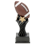 Football Tempest Resin Trophies