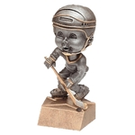 Hockey Bobblehead Trophy with Face