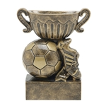 Soccer Sport Cup Resin Trophies