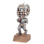 Football Bobblehead Trophy with Face