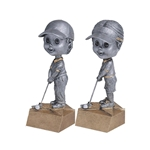 Golf Bobblehead Trophies with Face
