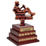 Tiered Fantasy Football Perpetual Trophy