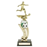 Soccer Color Scene Trophies