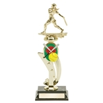 Softball Color Scene Trophies