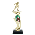 Football Color Scene Trophies