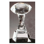 Crystal Football Trophies