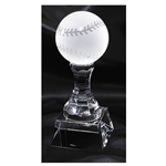 Baseball Crystal Trophies