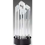Crystal 4-Column Diamond Trophies