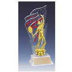 Tennis Red Diamondback Trophies
