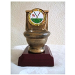 Golf Toilet Trophies