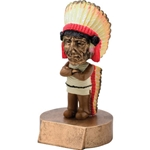 Indian Mascot Bobblehead Trophies