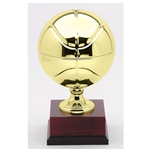 Metal Basketball Trophies