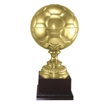 Metal Soccer Ball Trophies